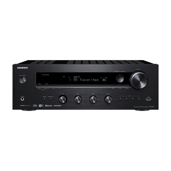 Onkyo: TX-8160 Network Stereo Receiver (Phono Input, Bluetooth)