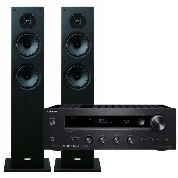 Onkyo: Integrated Amp + Speaker Package (TX-8140 + SKF4800)
