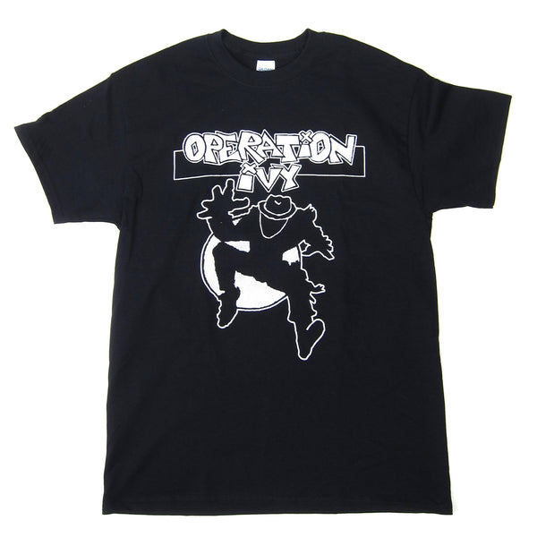 Operation Ivy: Ska Man Shirt - Black