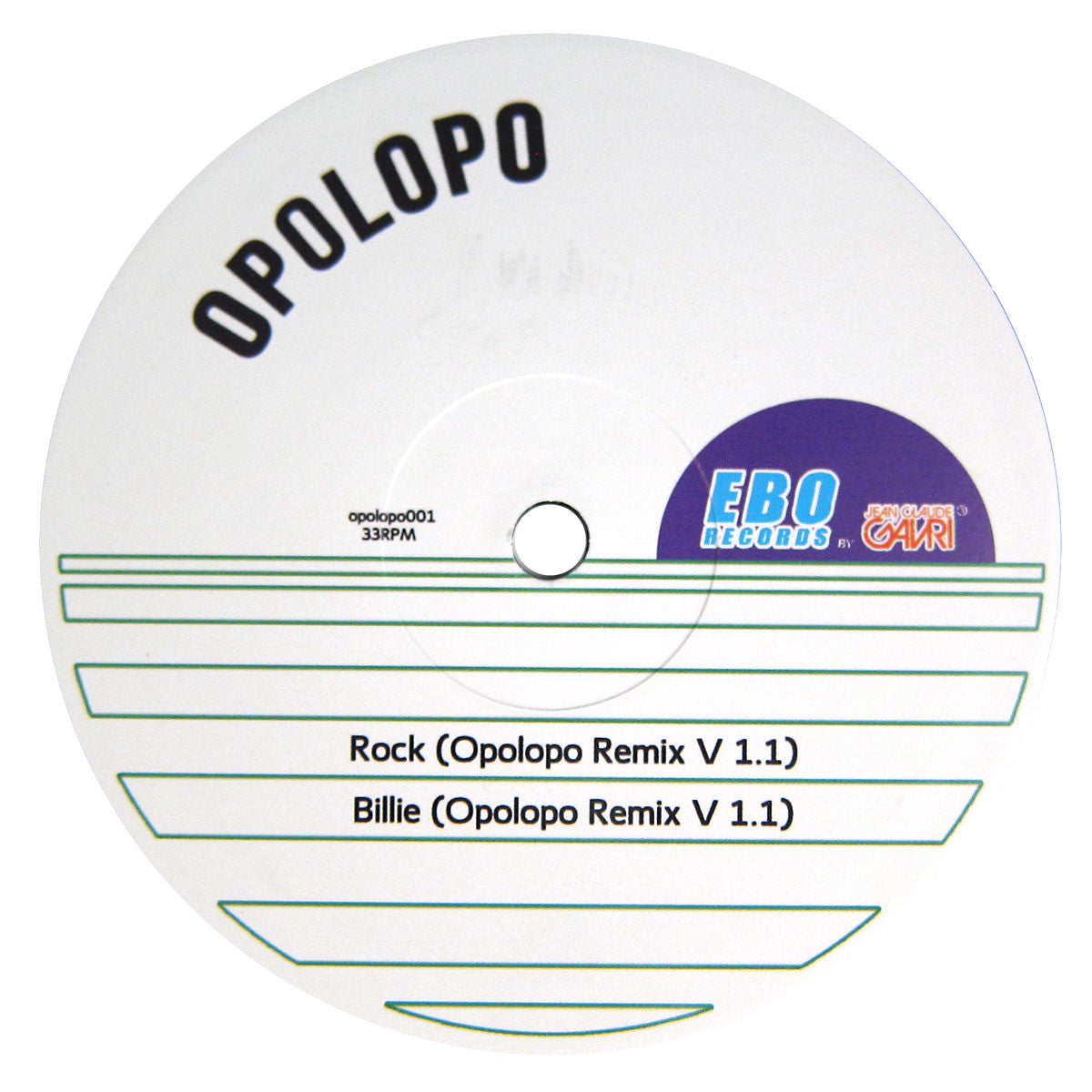 Michael Jackson: Rock With You / Billie Jean Opolopo Remixes Vinyl 12""