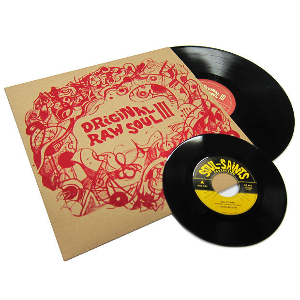 Now Again: Original Raw Soul III 2LP + 7""