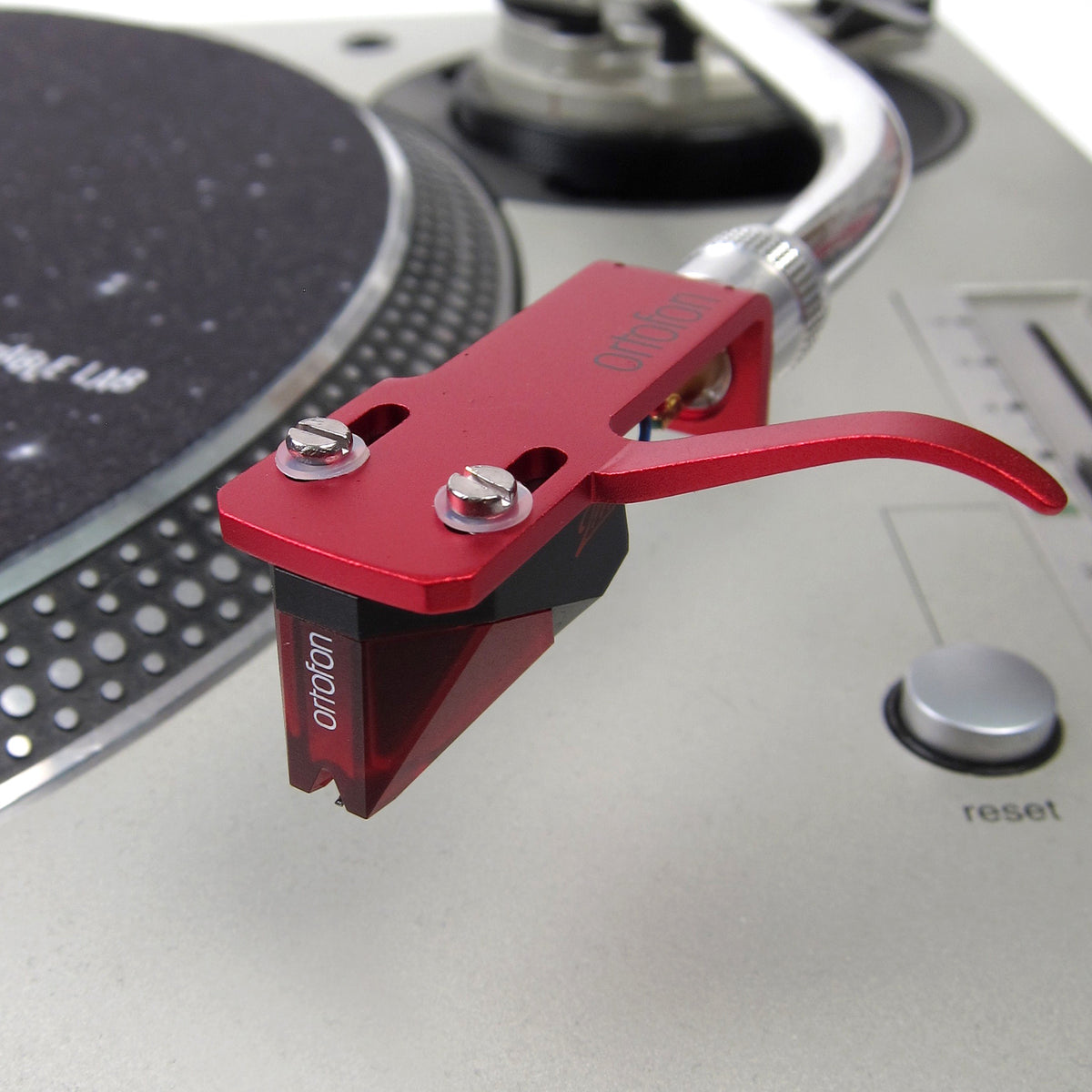 Ortofon: 2M Red Cartridge Mounted on SH-4 Headshell