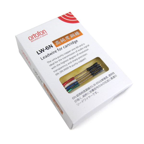 Ortofon: Copper Headshell Leads (LW-6N)