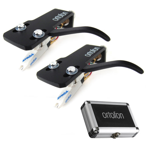 Ortofon: Scratch OM Cartridge Twin Set (Case)