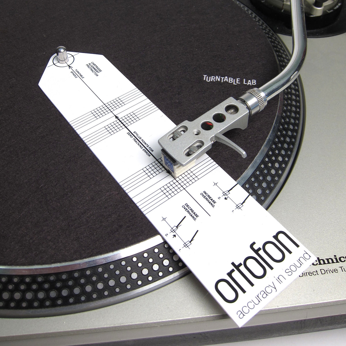 Ortofon: Cartridge Alignment Tool
