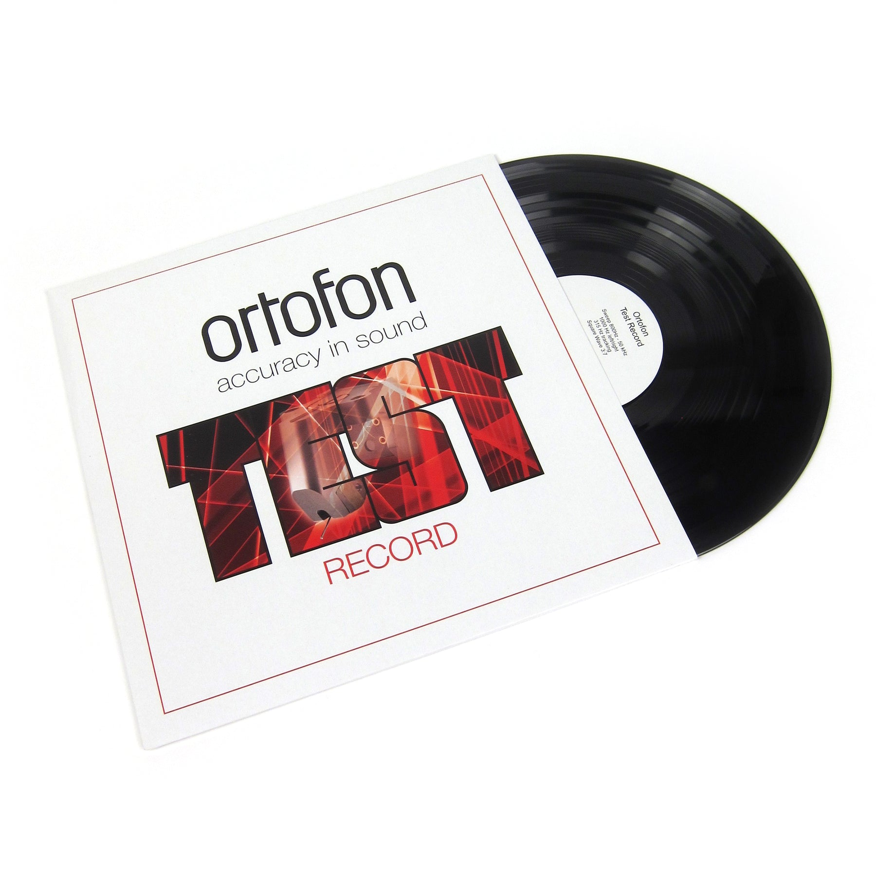 ortofon: test record vinyl lp – turntablelab