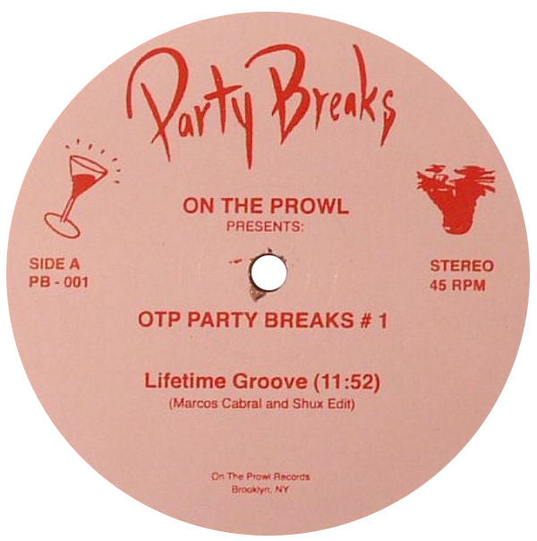 Marcos Cabral & Shux: On The Prowl Party Breaks #1 12""