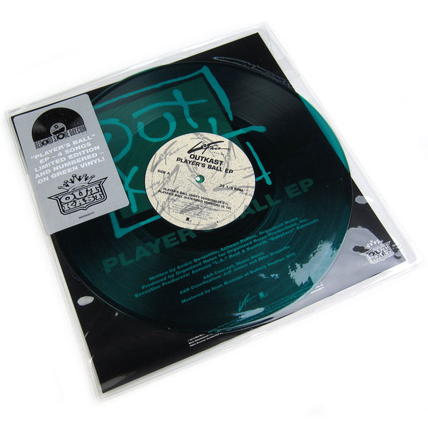 "Outkast: Player's Ball (Colored Vinyl) Vinyl 10"" (Record Store Day) detail"