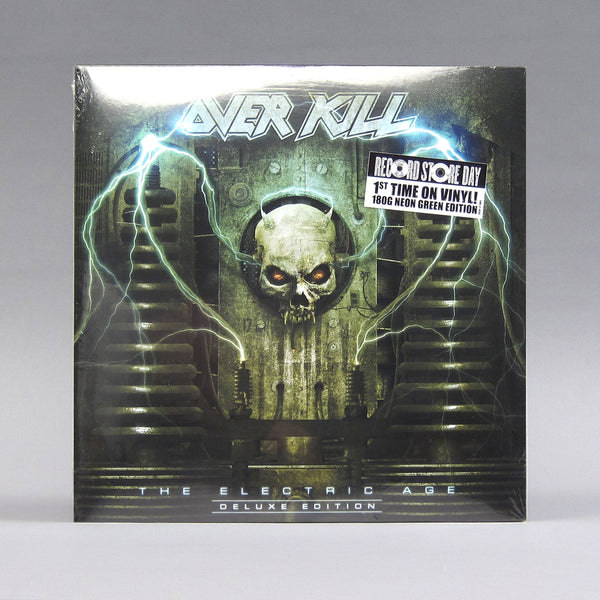 Overkill: The Electric Age (180g, Colored Vinyl) VInyl 2LP (Record Store Day)
