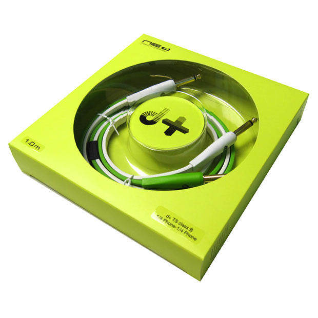 "Oyaide: NEO Class B 1/4"" to 1/4"" Cable, 1.0m - Green"