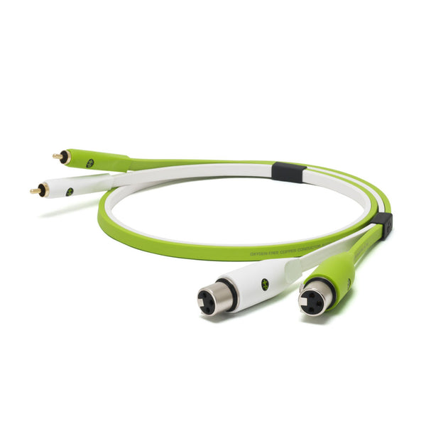 Oyaide: NEO Class B XLR Female to RCA XFR Cable, 2.0m - Green