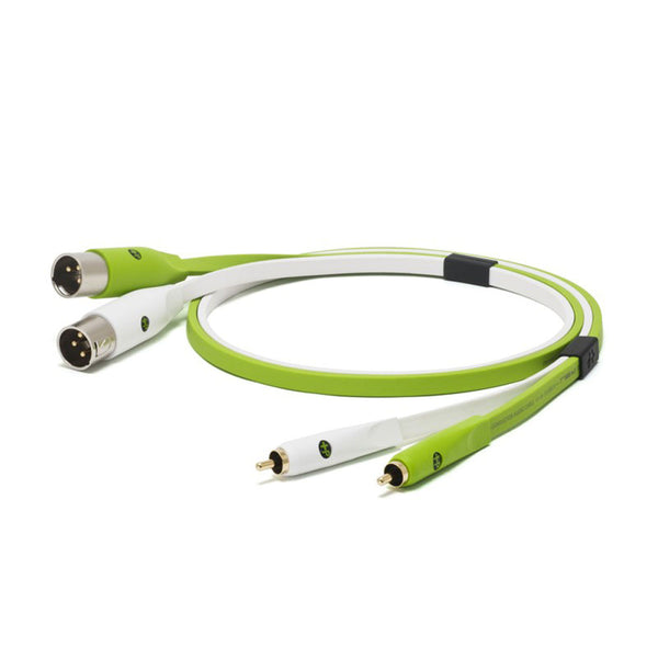 Oyaide: NEO Class B RCA to XLR Male RXM Cable, 2.0m - Green