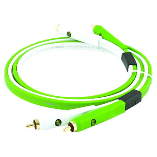 Oyaide: Class B RCA Cable, 1.0m - Green