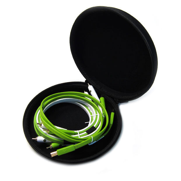 Oyaide: NEO DJ Cable Set (2x RCA, 1x USB, Case)