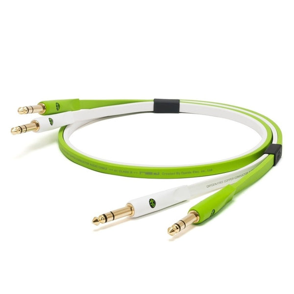 "Oyaide: NEO Class B 1/4"" TRS to 1/4"" TRS Cable, 1.0m - Green"