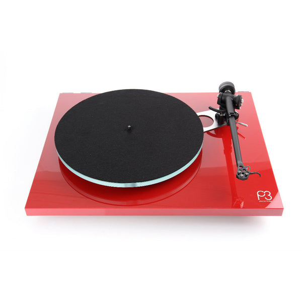 Rega: Planar 3 Turntable - Gloss Red / Without Catridge