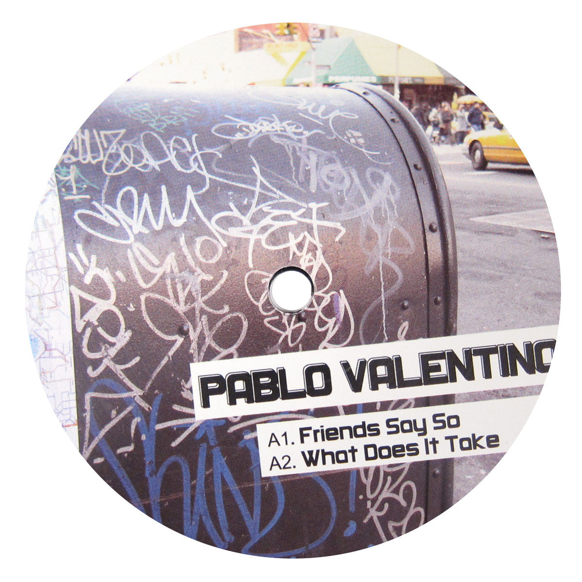Pablo Valentino: Friends Say So (Kez YM) 12""