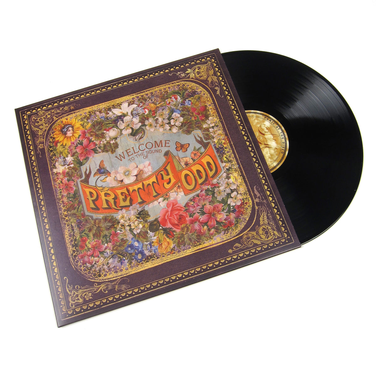 Panic! At The Disco: Pretty. Odd Vinyl LP