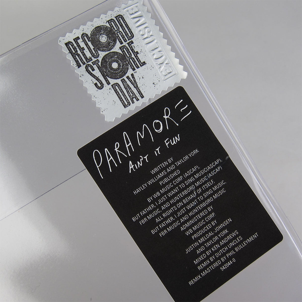 "Paramore: Ain't It Fun Vinyl 12"" (Record Store Day 2014) 2"