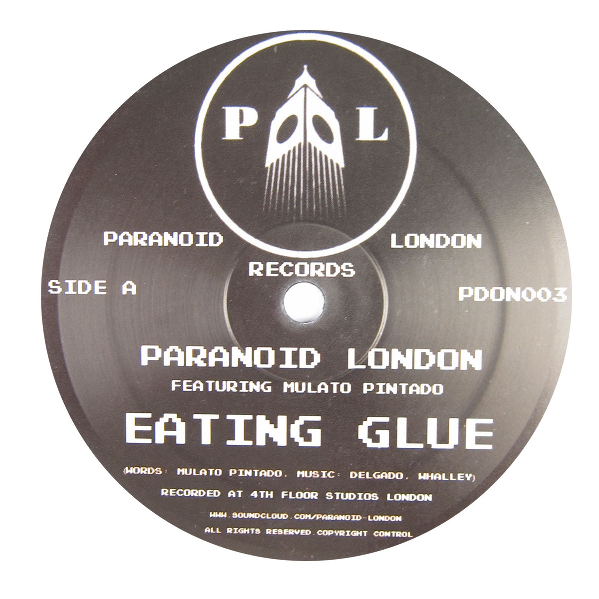 Paranoid London: Eating Glue Vinyl 12""