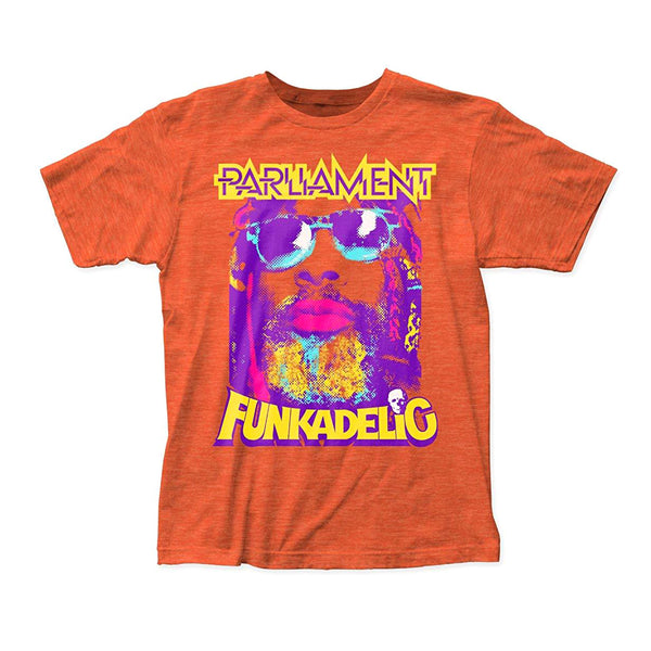 George Clinton: P-Funk Shirt - Heather Orange