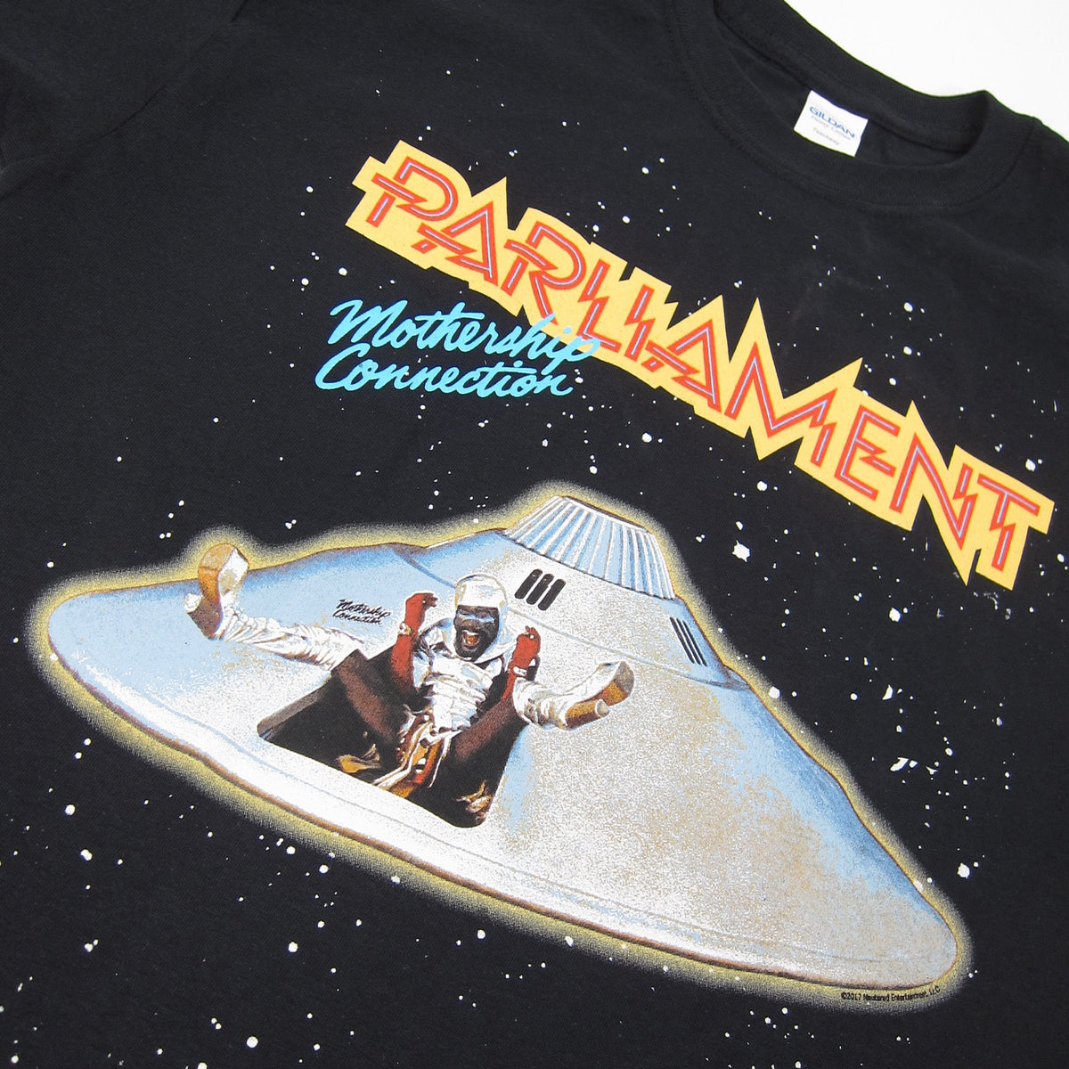 Parliament: Mothership Connection Shirt - Black (Impact)