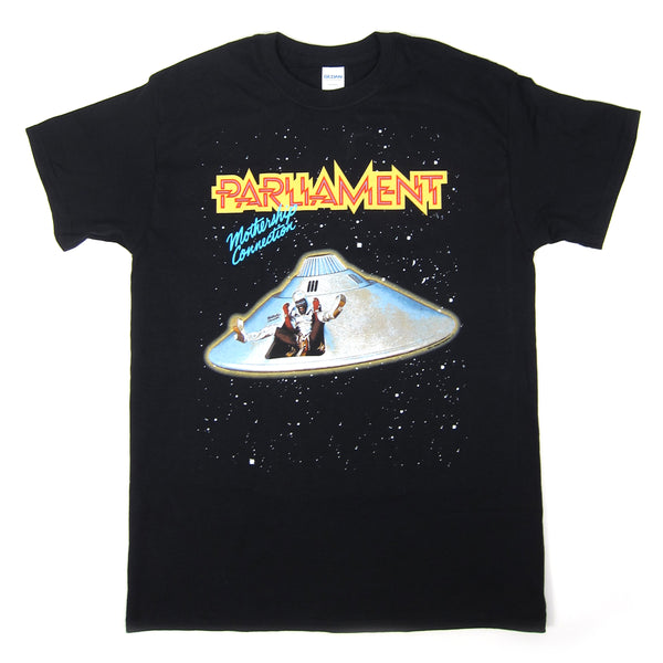 Parliament: Mothership Connection Shirt - Black