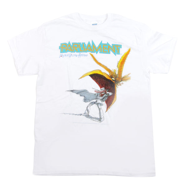 Parliament: Motor Booty Affair Shirt - White