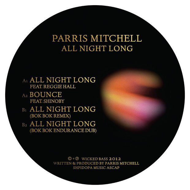 Parris Mitchell: All Night Long 12""