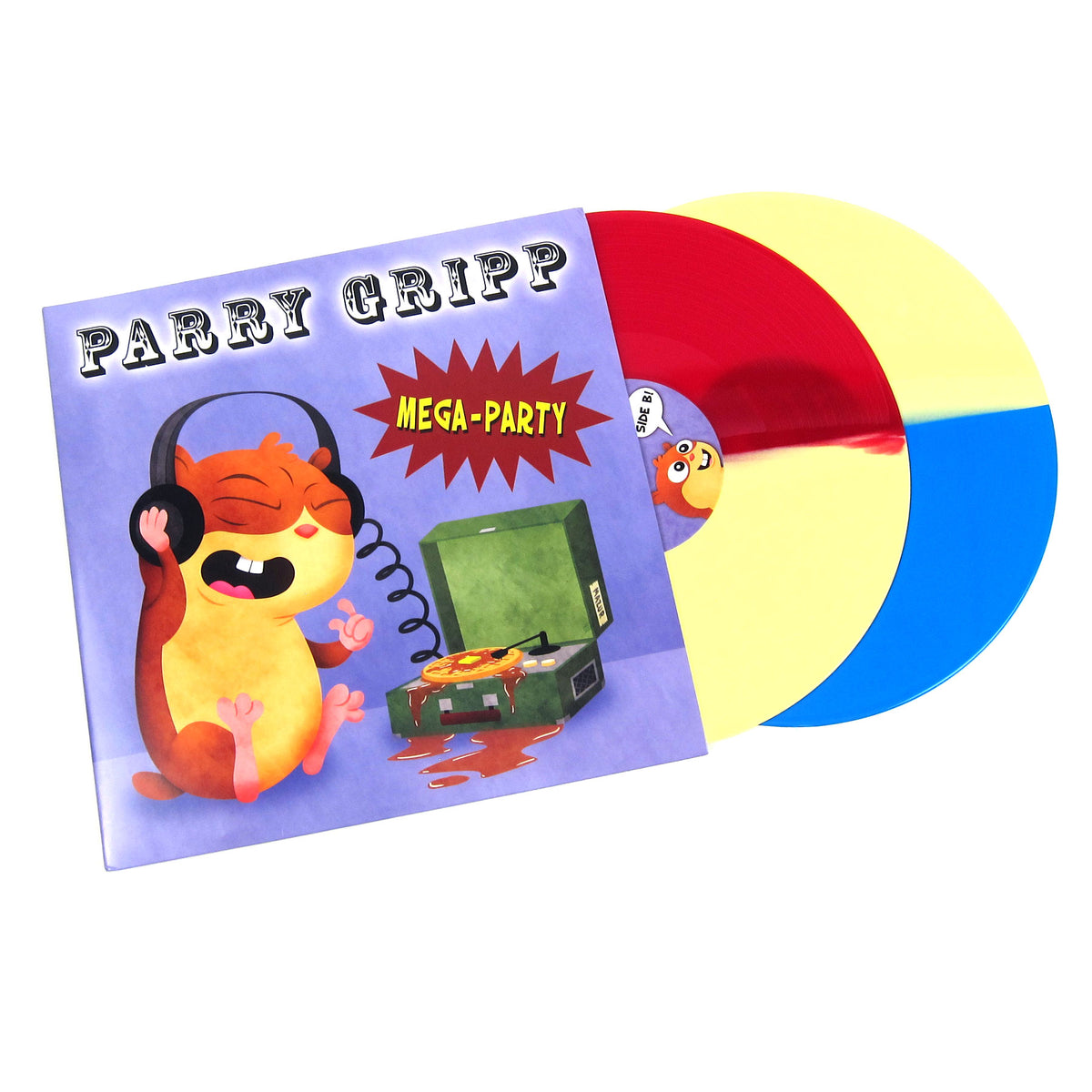 Parry Gripp: Mega Party (Colored Vinyl) Vinyl 2LP