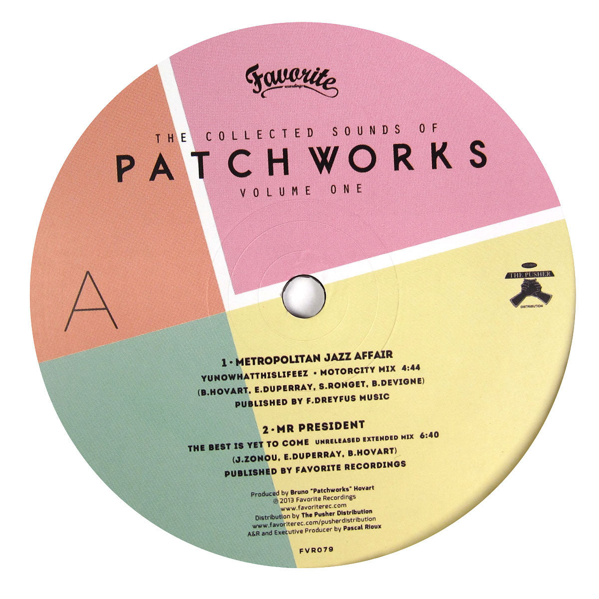 Patchworks: Collected Sounds Vol.1 (Amp Fiddler, Mr. President) Vinyl 12""