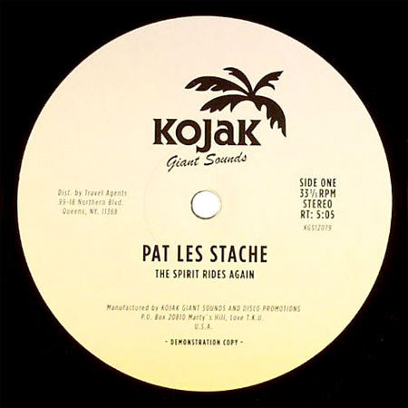 Pat Les Stache: The Spirit Rides Again 12""