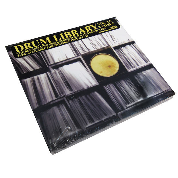 Paul Nice: Drum Library Vol.1-5 2CD