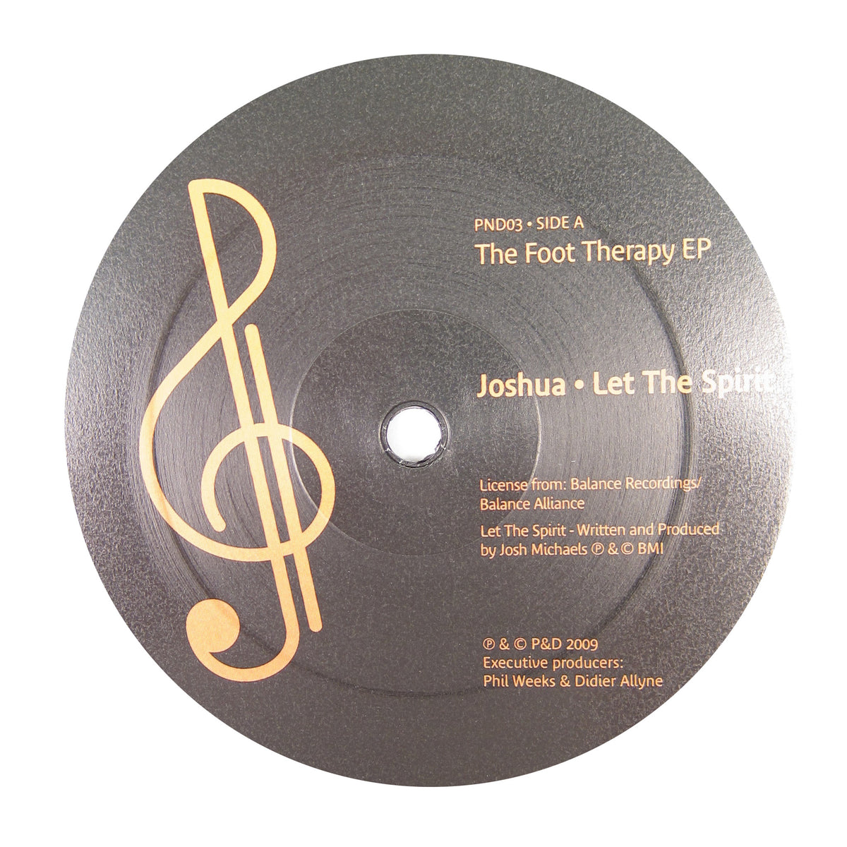 P&D: The Foot Therapy (Joshua, Chez Damier, Ron Trent) Vinyl 12""