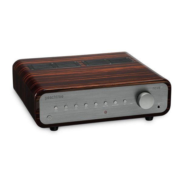 Peachtree Audio: nova150 Integrated Amplifier - Gloss Ebony Mocha