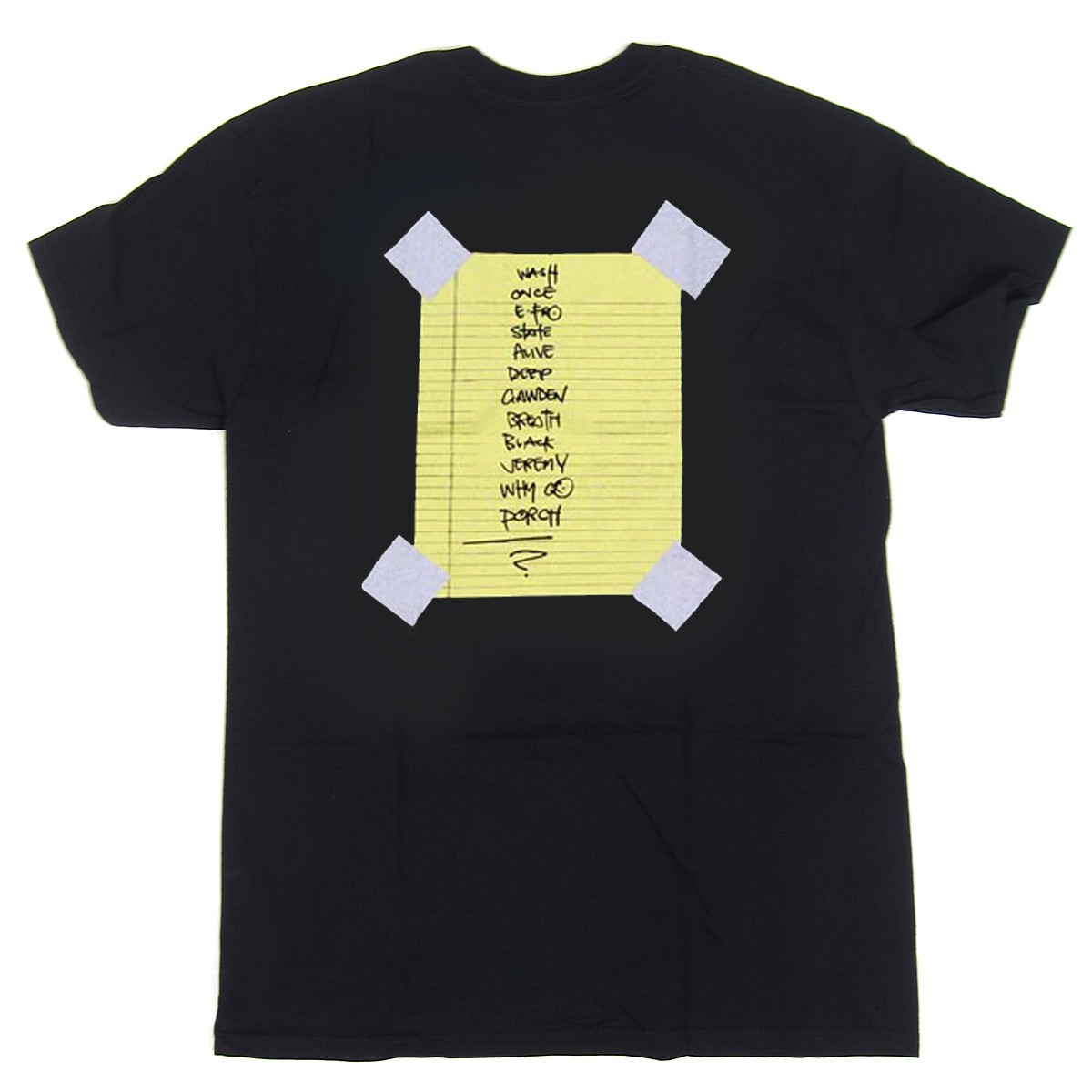 Pearl Jam: Stick Man Shirt - Black