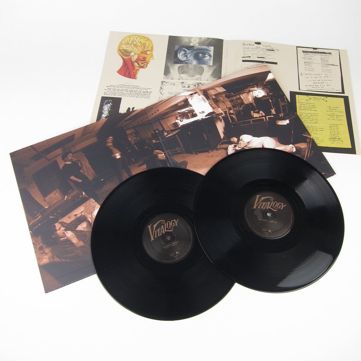 Pearl Jam: 180g Vinyl LP Album Pack (Ten, Vs., Vitalogy)