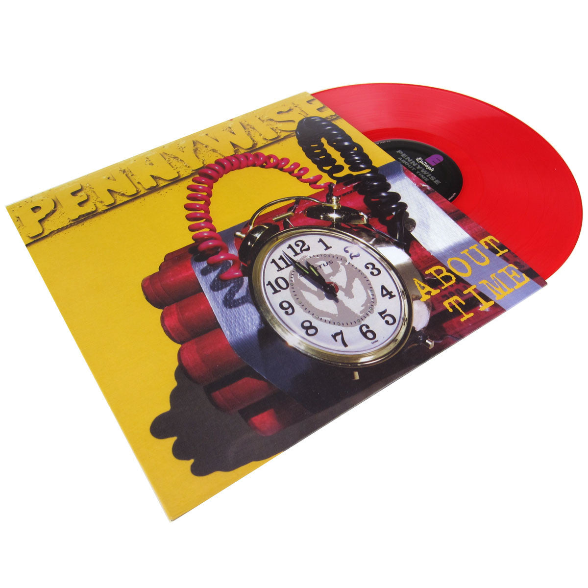 Pennywise: About Time (Limited Edition Red Vinyl) Vinyl LP