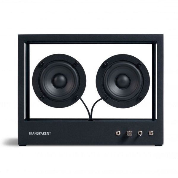 People People: Transparent Speaker - Small / Black