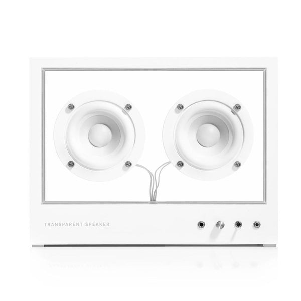 People People: Transparent Speaker - Small / White