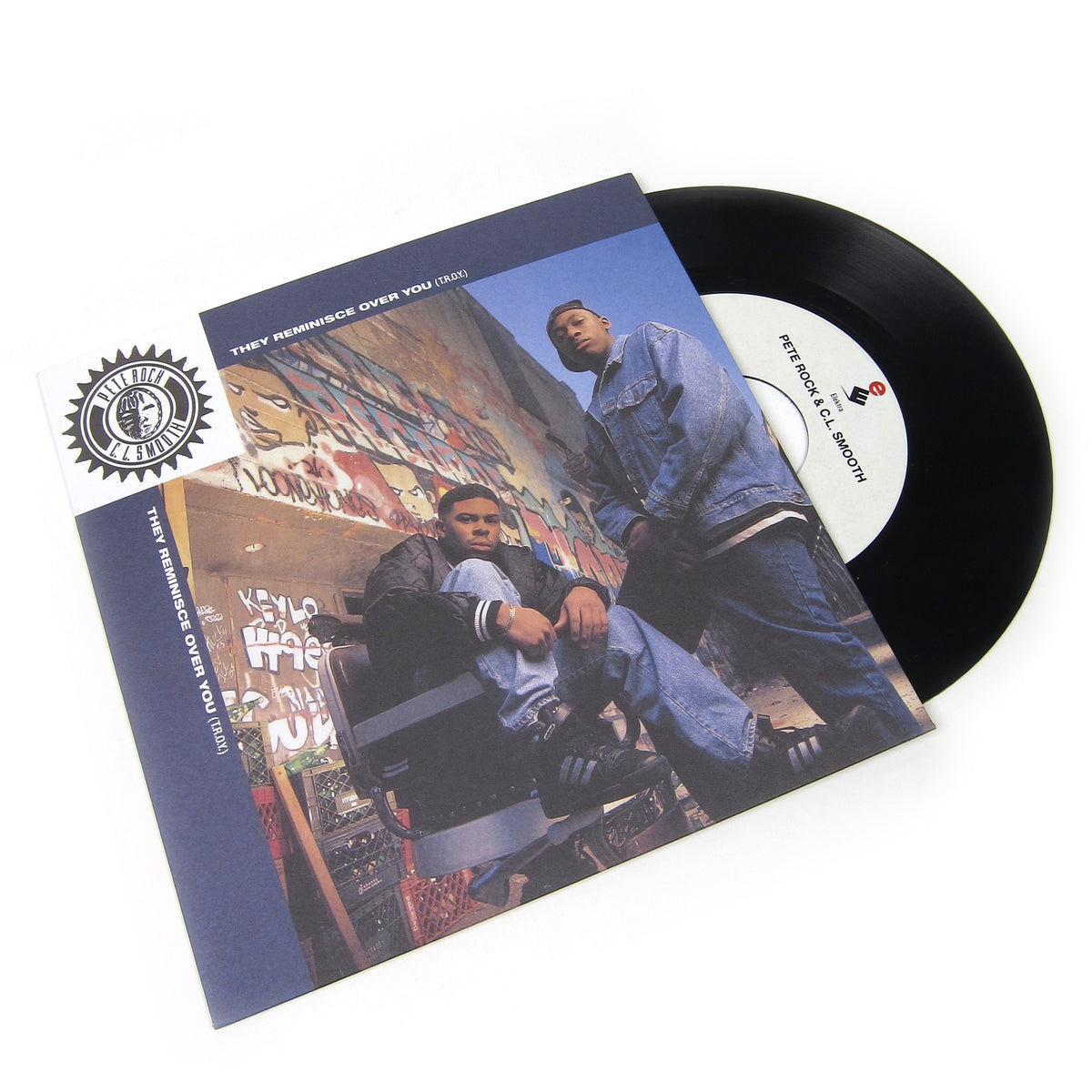 Pete Rock & C.L. Smooth: They Reminisce Over You (T.R.O.Y.) Vinyl 7""