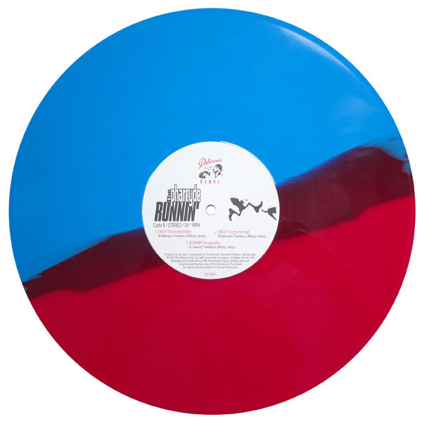 Pharycde: Runnin' (Split Colored Vinyl Edition) 12""