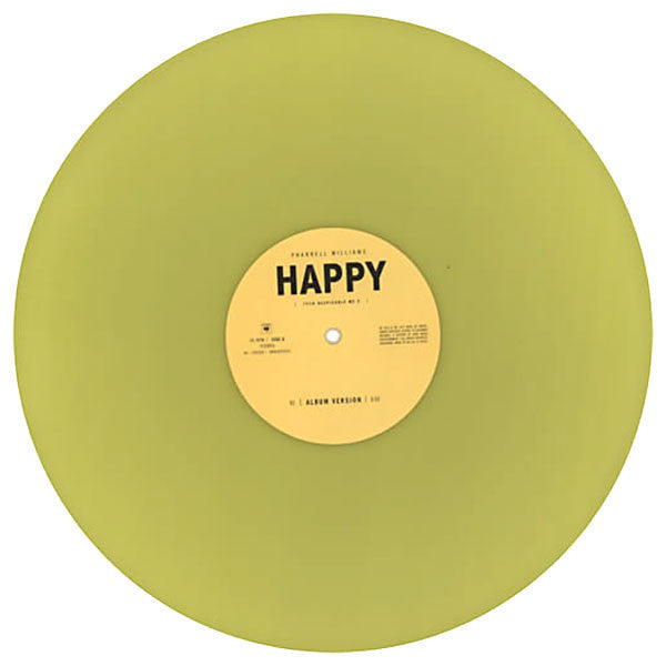 "Pharrell Williams: Happy (Colored Vinyl) Vinyl 12"" detail"