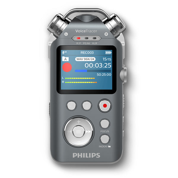 Philips: VoiceTracer DVT7500 Digital Audio Recorder