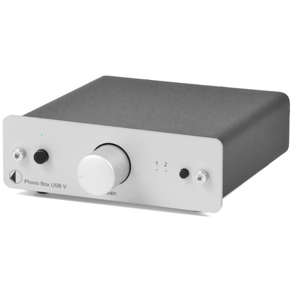 Pro-Ject: Phono Box DC USB V Preamp - Silver