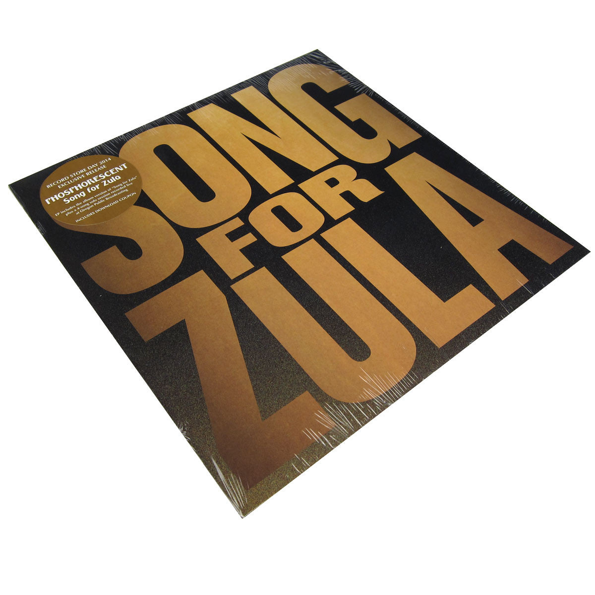 "Phosphorescent: Song For Zula 12"" Vinyl (Record Store Day 2014)"