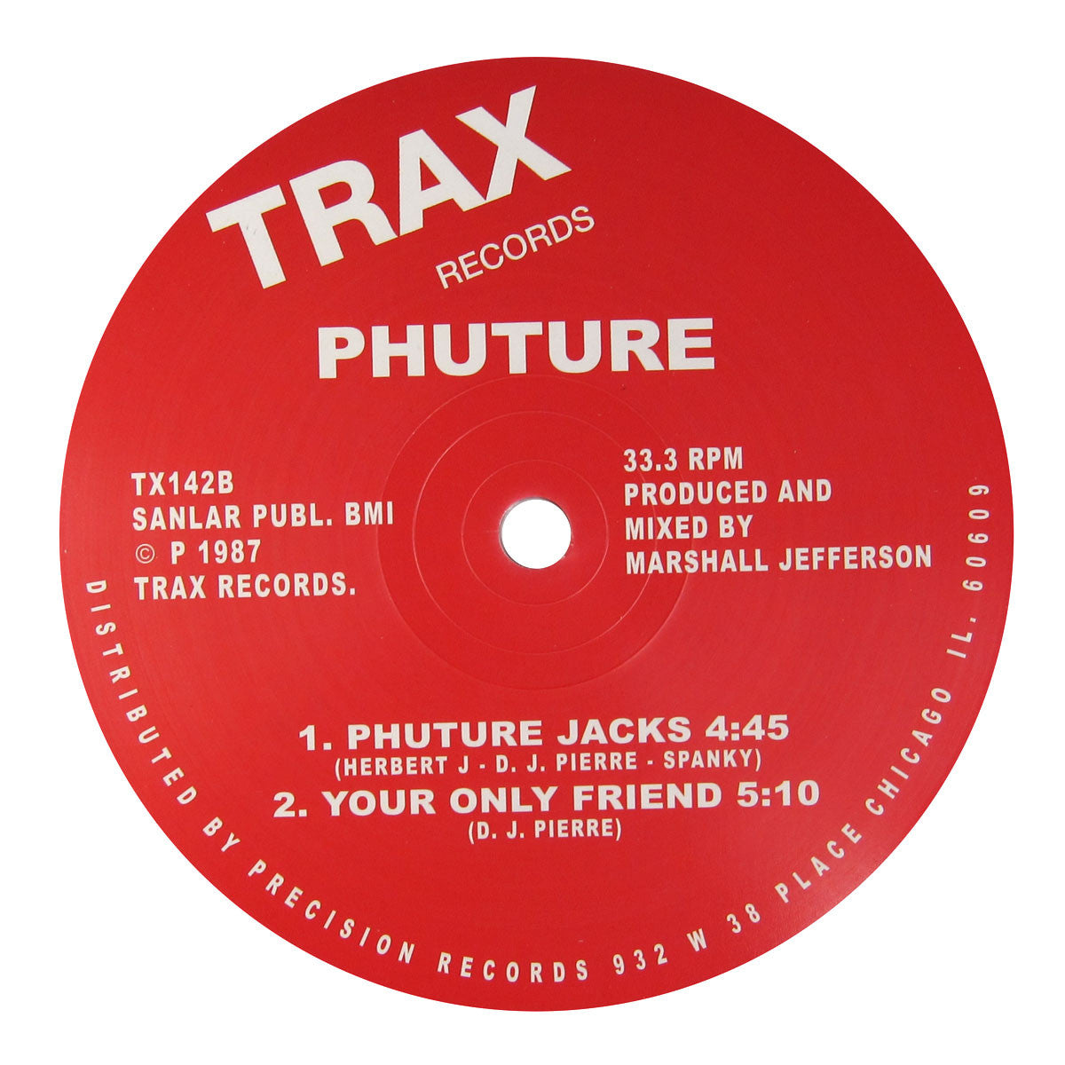 Phuture: Acid Tracks Vinyl 12""