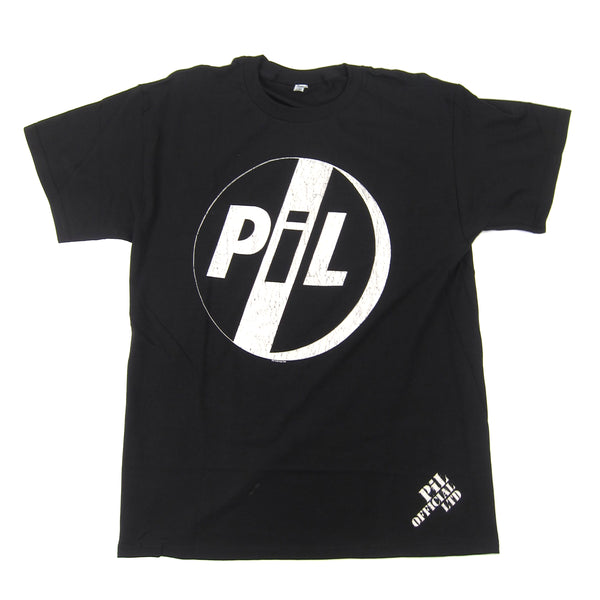 PiL: Logo Shirt - Black