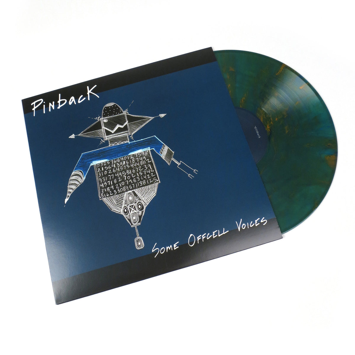 Pinback: Some Offcell Voices (Colored Vinyl) Vinyl LP