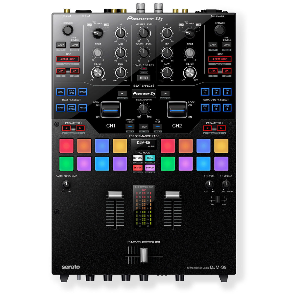 pioneer djm s9 serato dj mixer. Black Bedroom Furniture Sets. Home Design Ideas